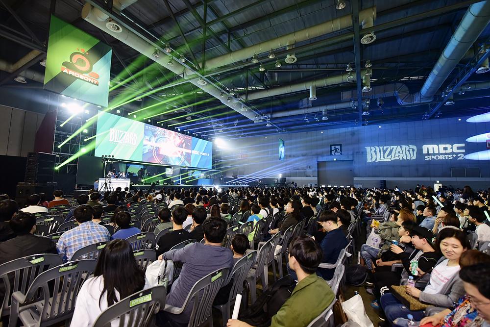 올해 '2021 플레이엑스포(PlayX4)' 수출상담회(B2B)와 전시회(B2C) 일정을 5월과 7월로 나눠 분리 개최된다. 지난 2018년도에 개최된  플레이엑스포(PlayX4)의 모습.