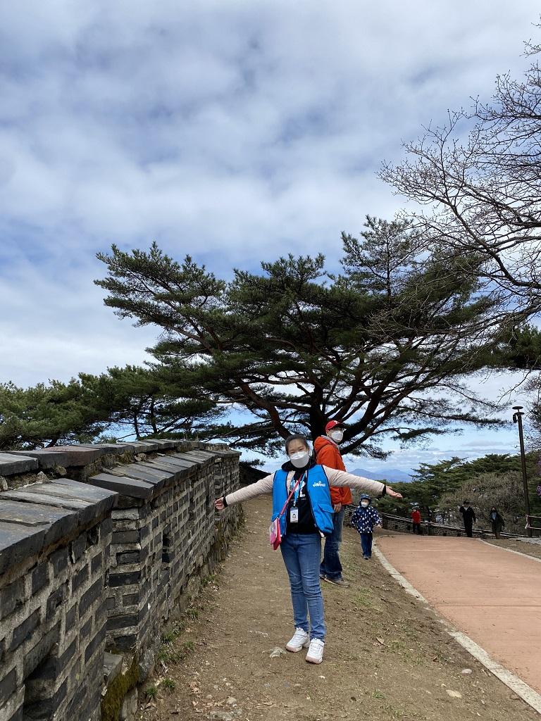 꿈기자가 봄 나들이를 위해 남한산성을 방문했다.